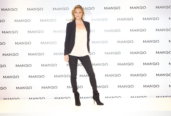 Kate Moss – The New Face of Mango & 20% Reduction on Clothes