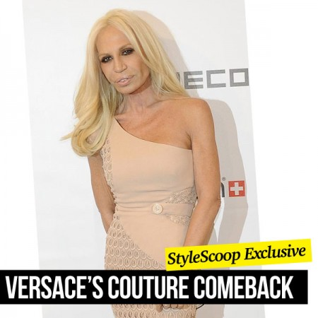 Versace To Return to the Couture Catwalk