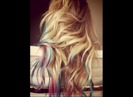 "Hair Trend: The ""Dip-Dye"""