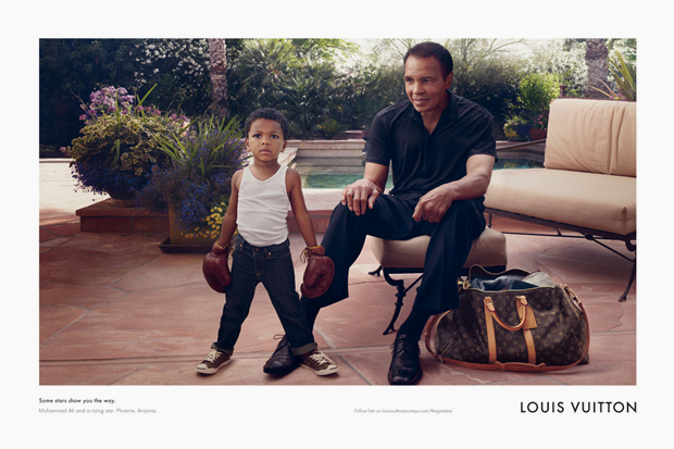 Muhammed Ali - Louis Vuitton