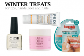 Winter Lip, Nails, Hand and Feet Care 