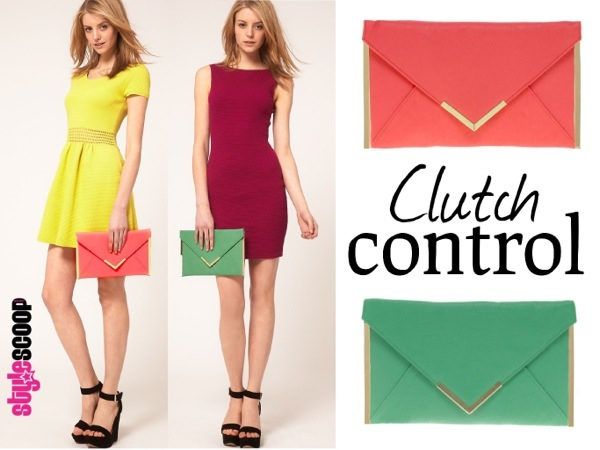 We Heart Envelope Clutches