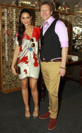 Zuraida Jardine with Josh Lindberlt