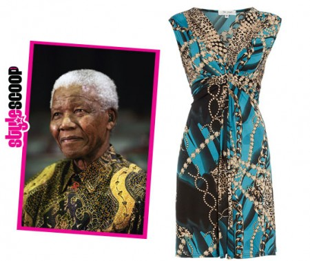 Trend Alert: <em>Scarf Prints</em> and A Tribute to Madiba