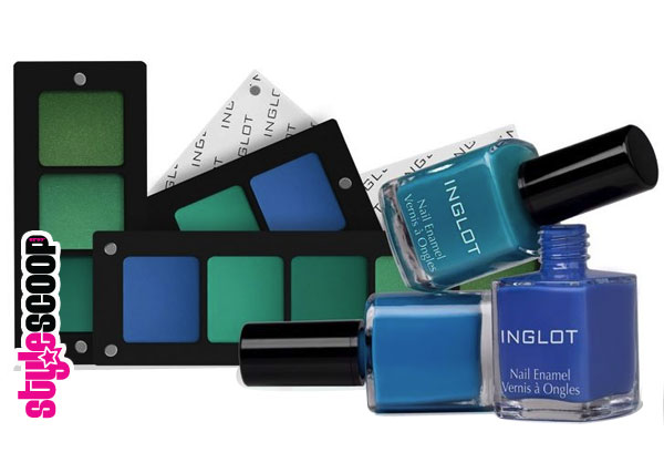 INGLOT-aquabluecollection