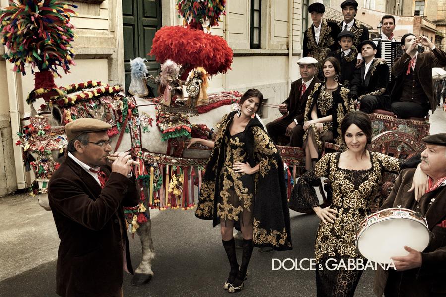 Dolce & Gabbana A/W campaign