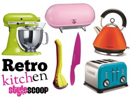The Retro Kitchen. Fun Stuff to Brighten up Your Kitchen