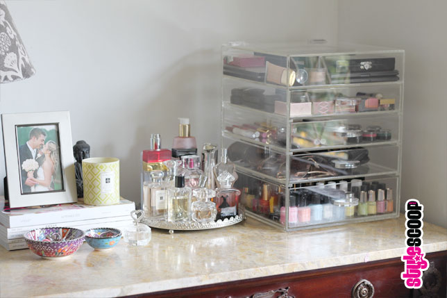 These Acrylic Makeup Organizers ...