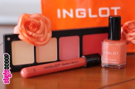 Inglot's Hawaiian Bar Colour Collection