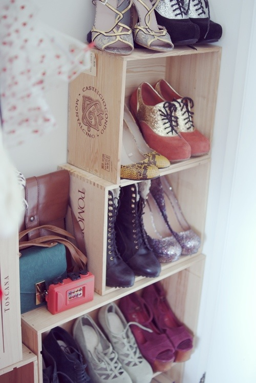 beautiful shoe storage idea you could diy style scoop south