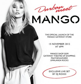 Mango Opens in Durban, TONIGHT!