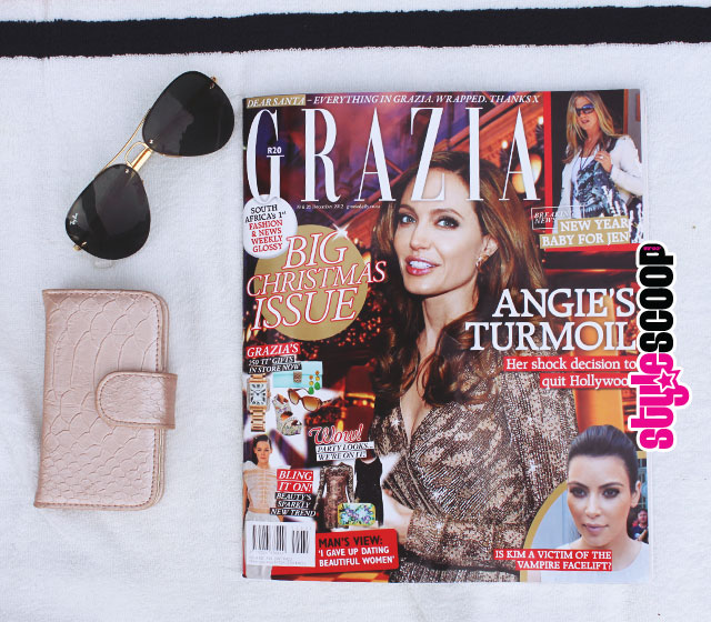 Grazia Big Christmas Issue #stylescoop