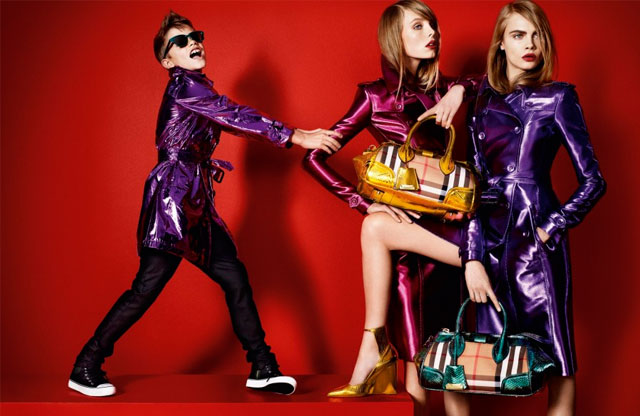 Romeo Beckham for Burberry - Spring/Summer 2013 #stylescoop