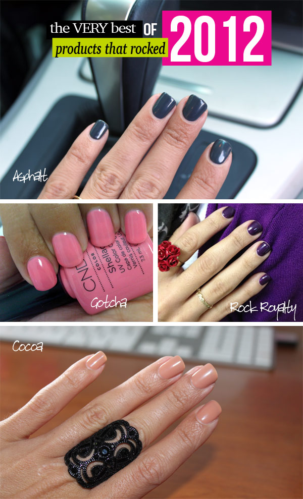 Products that Rocked 2012! #shellac #stylescoop