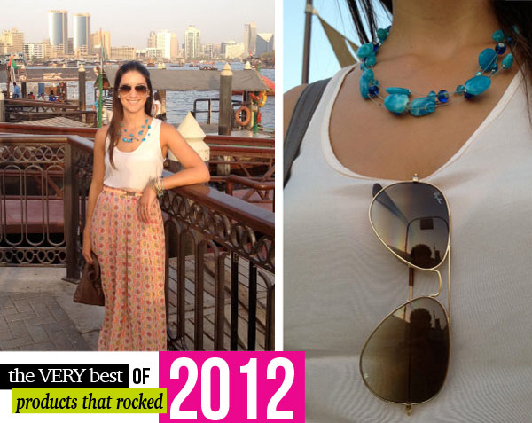 Products that Rocked 2012! #stylescoopRay-Ban Aviator Sunglasses #stylescoop
