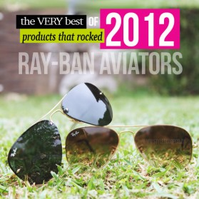 Products That &lt;em&gt;Rocked 2012&lt;/em&gt;! Ray-Ban Aviators
