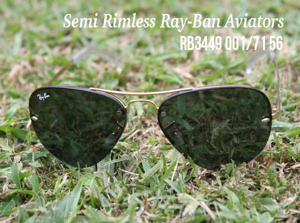 Products that Rocked 2012! Ray-Ban Aviator Semi-Rimless Sunglasses #stylescoop
