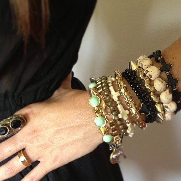 One Big, Indulgent Arm Party
