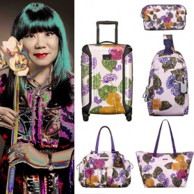 From Runway to Jetway! <em>TUMI teams up with Anna Sui</em>
