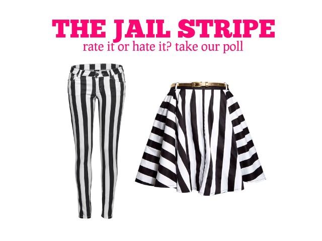 <em>Fab or Drab</em>: Would you wear Jail Stripes? [Poll]