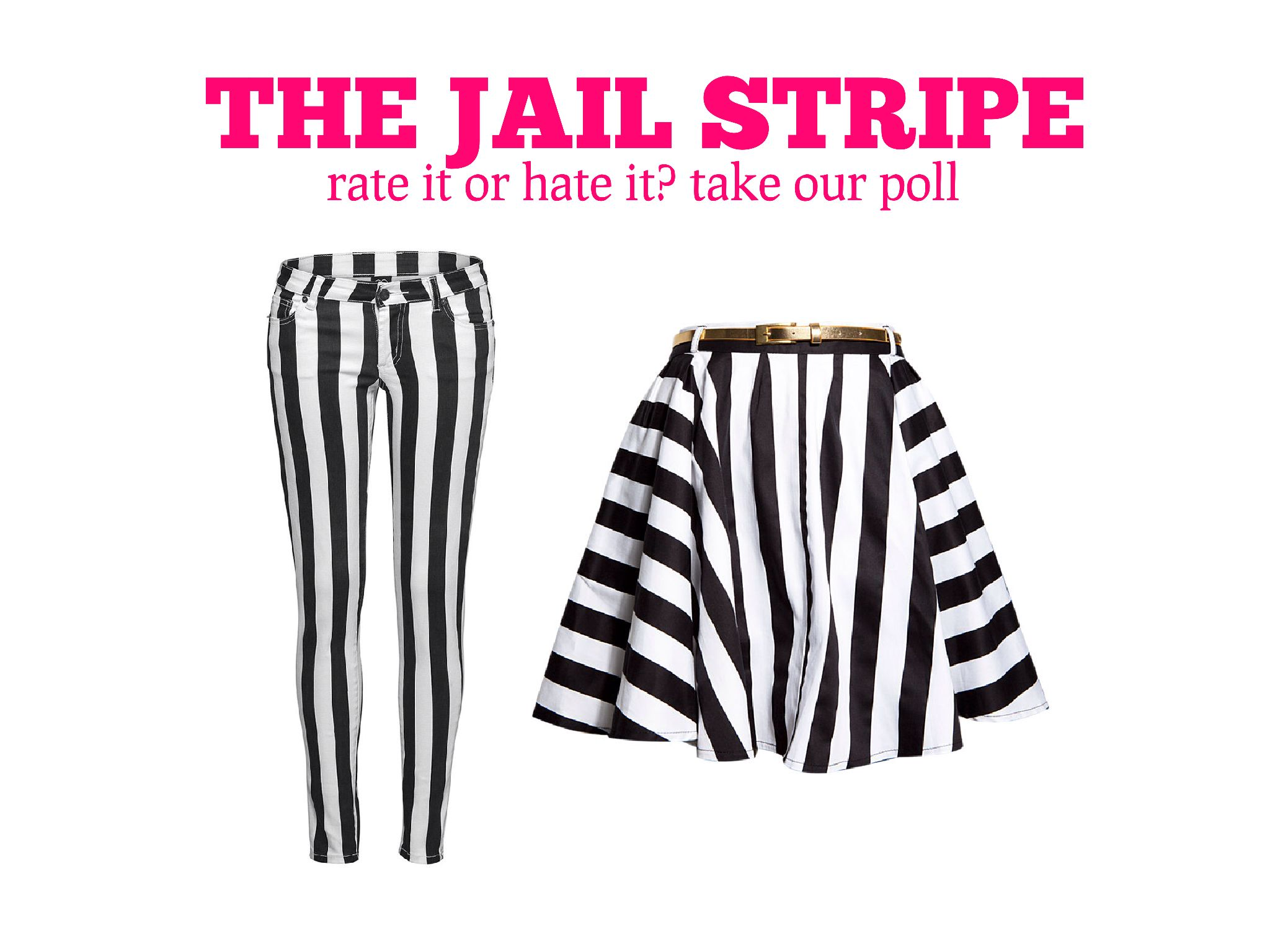 Jail Stripe Fashion Trends on www.stylescoop.co.za