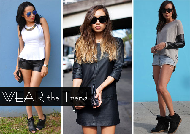 Leather Trend Blogger Style on www.stylescoop.co.za
