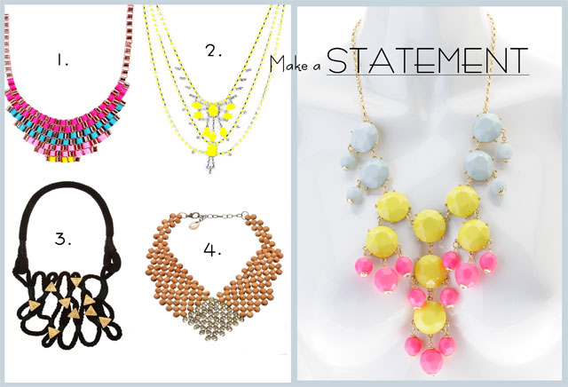 Statement Necklaces | Brett Robson | www.stylescoop.co.za
