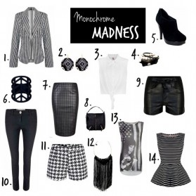 It&#8217;s all Black and White! Monochrome Madness