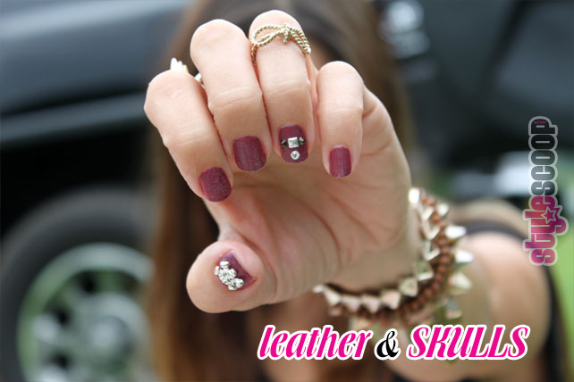nails inc Leather & Skulls on www.stylescoop.co.za