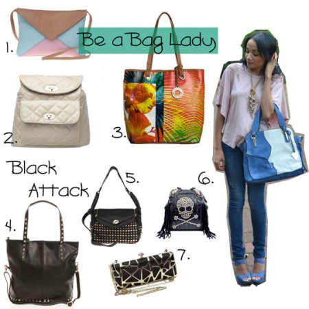 It's In The Bag! Chic, Stylish Handbags For The Bag Lady!