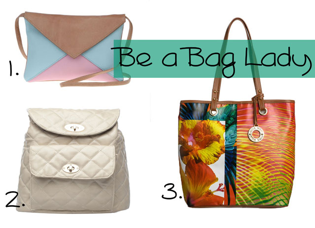 Be a Bag Lady! Via www.stylescoop.co.za