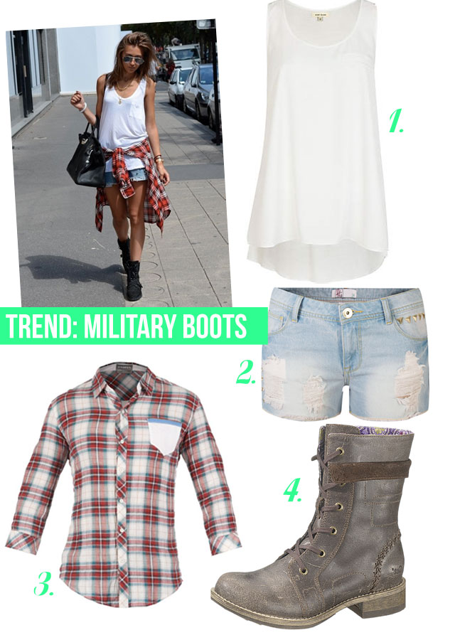 How to Wear Military/ Combat Boots on www.stylescoop.co.za