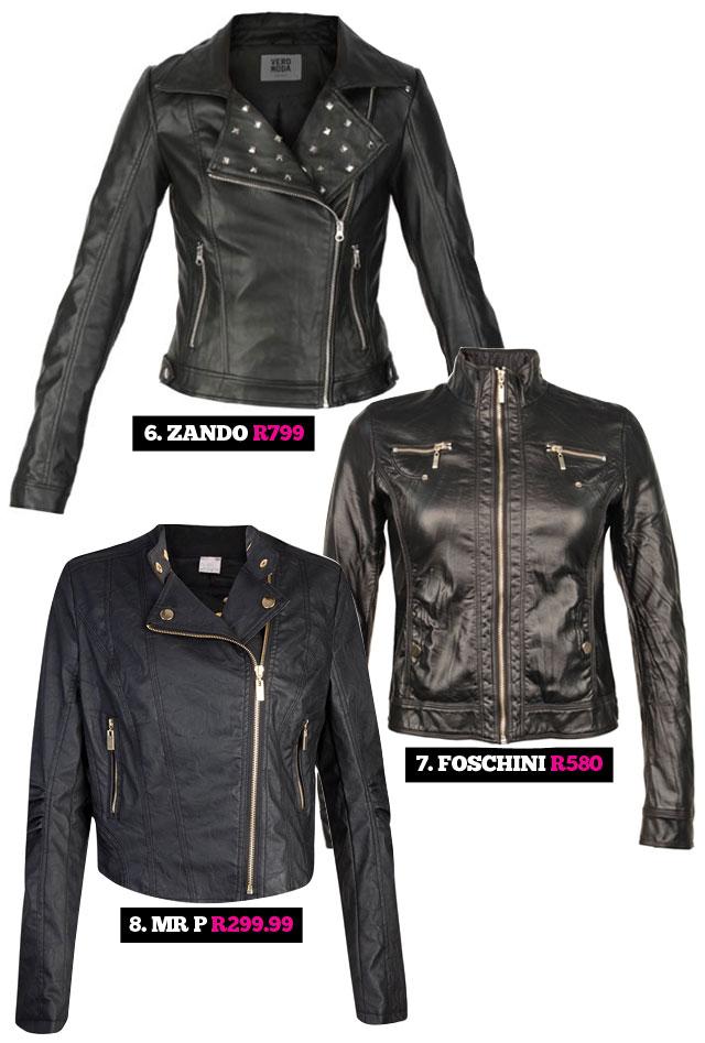 Trend Alert The Biker Jacket Stylescoop South African