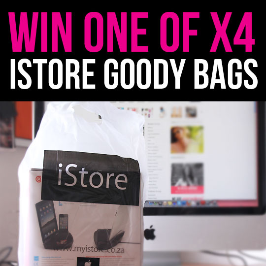 [CLOSED] We're Giving Away 4 Awesome Goody Bags from the iStore