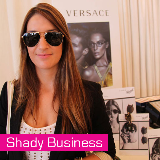 Shady Business; A Day With Luxottica Checking Out The Sunglasses