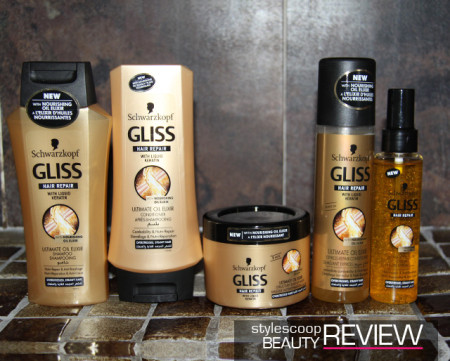 Fix Dry &#038; Damaged Hair With <strong>GLISS Ultimate Oil Elixir</strong>