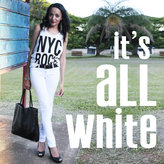All White, All Right! How To Wear White Without Looking Boring