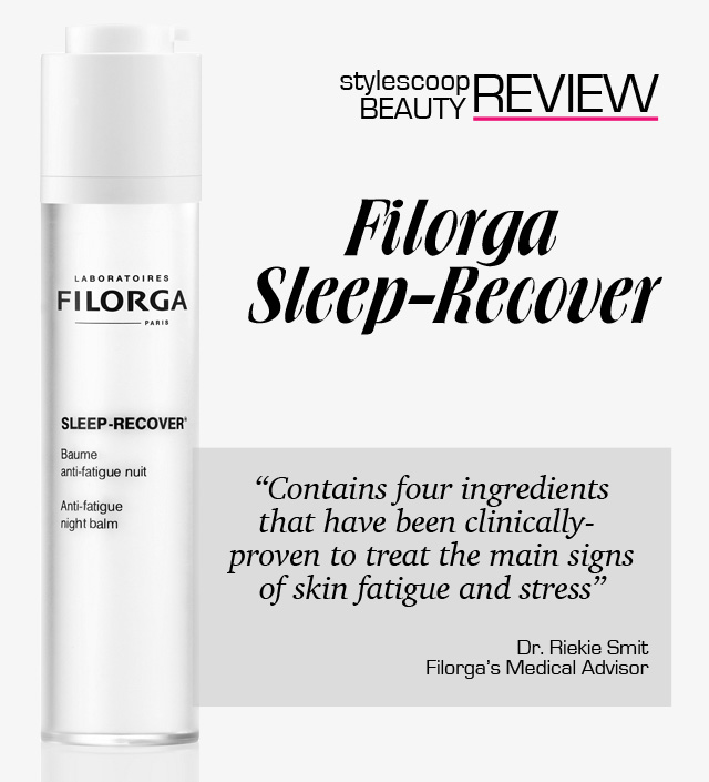 StyleScoop Beauty Review; Filorga Sleep-Recover