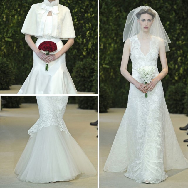 Carolina Herrera Bridal Collection - Spring 2014 on www.stylescoop.co.za