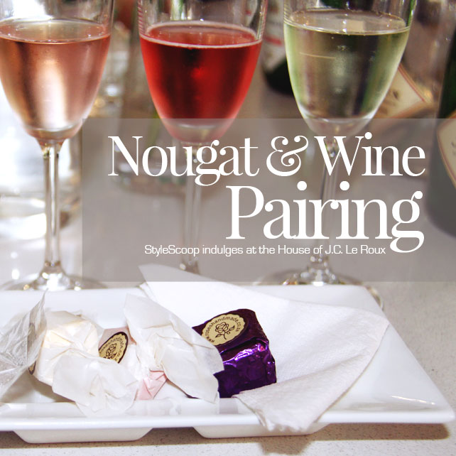 Nougat & Wine Pairing at The House of JC Le Roux