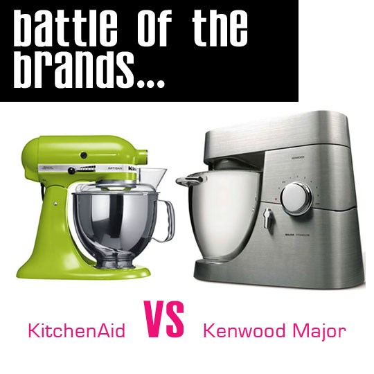 Kenwood Titanium Major vs KitchenAid Artisan