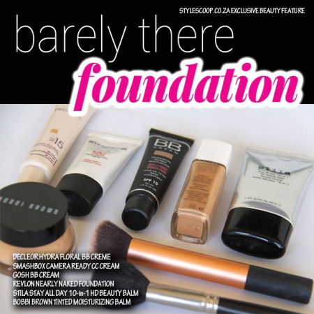 Barely There! Foundation Cover That Looks Natural