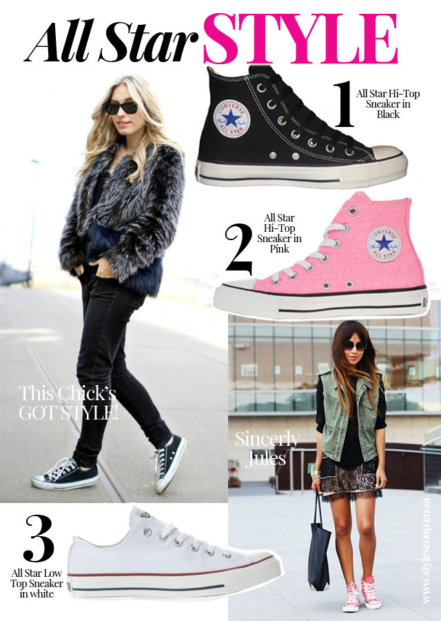 All Star Style Converse Are Cool Style Scoop Daily