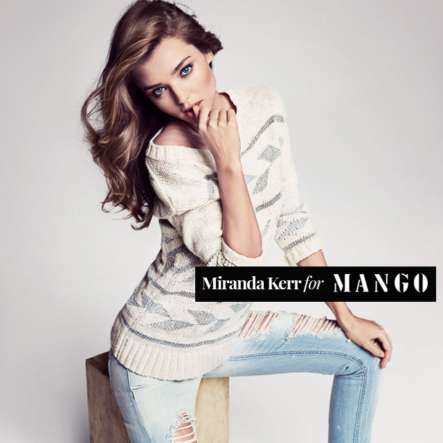 Miranda Kerr for MANGO - Spring Summer 2013