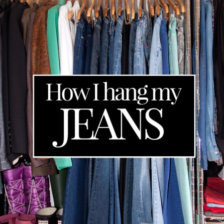 How to Hang Your Jeans