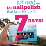 Nail Polish That Lasts For 7 Days?! <strong>VINYLUX Is Here!</strong>