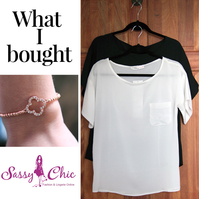 My Shopping at SassyChic. What I bought and Store Review