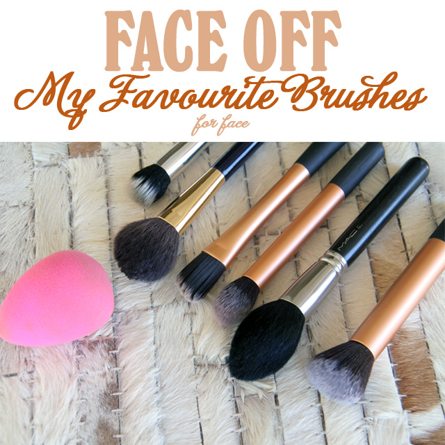 Foundation Brush Favourites! More on www.stylescoopmag.com