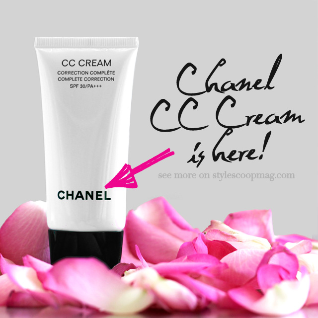 CHANEL CC Cream | More on StyleScoopMag.com