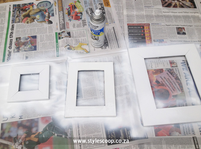 chanel-frames-diy-spray-painting